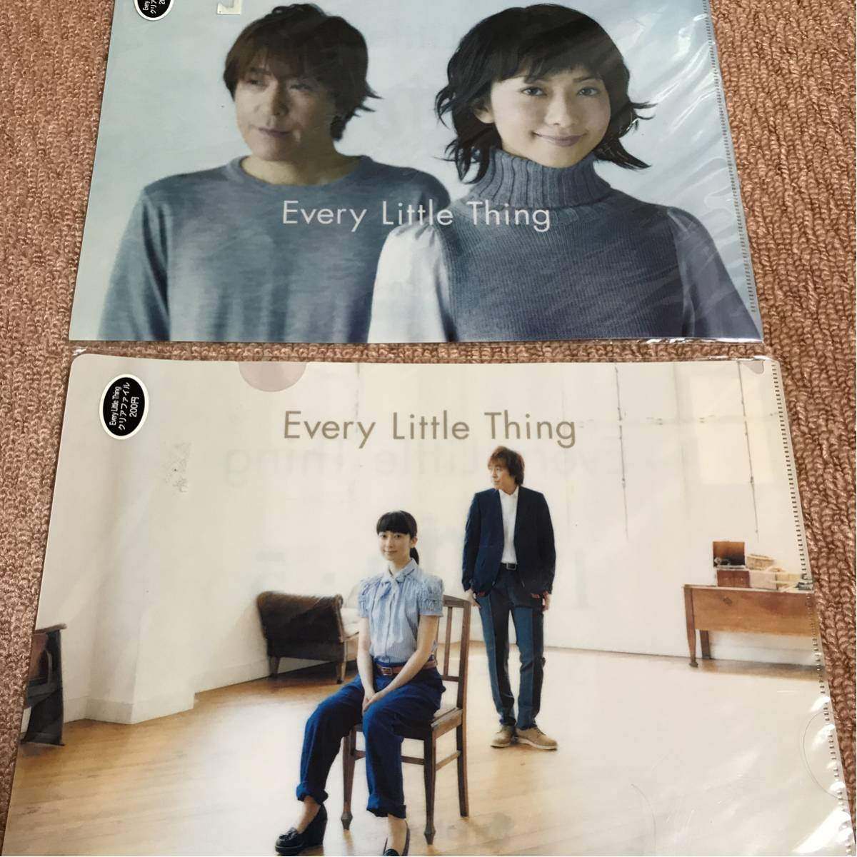 Every Little Thing ELT 持田香織 クリアファイル グッズ
