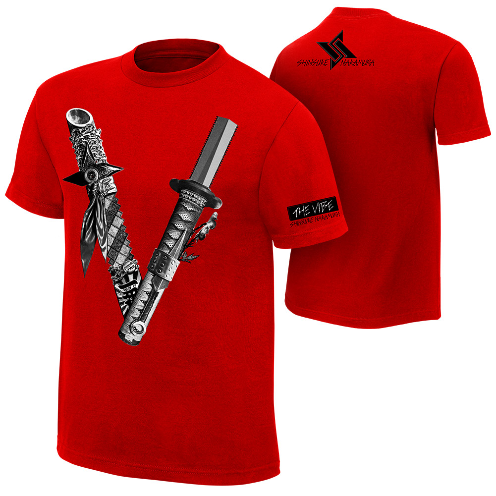 【新品】 WWE Shinsuke Nakamura 中邑真輔 The Vibe オーセンティック Tシャツ XLサイズ 【送料最安164円】 グッズの画像