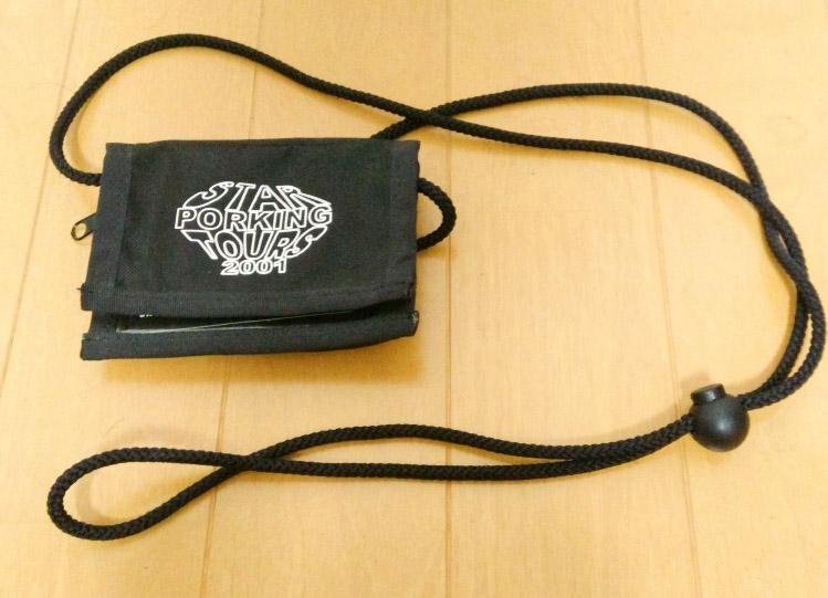 BUMP OF CHICKEN ツアーグッズ 2001 スターポーキングツアーズ 小銭入れ おまけバッジ付き
