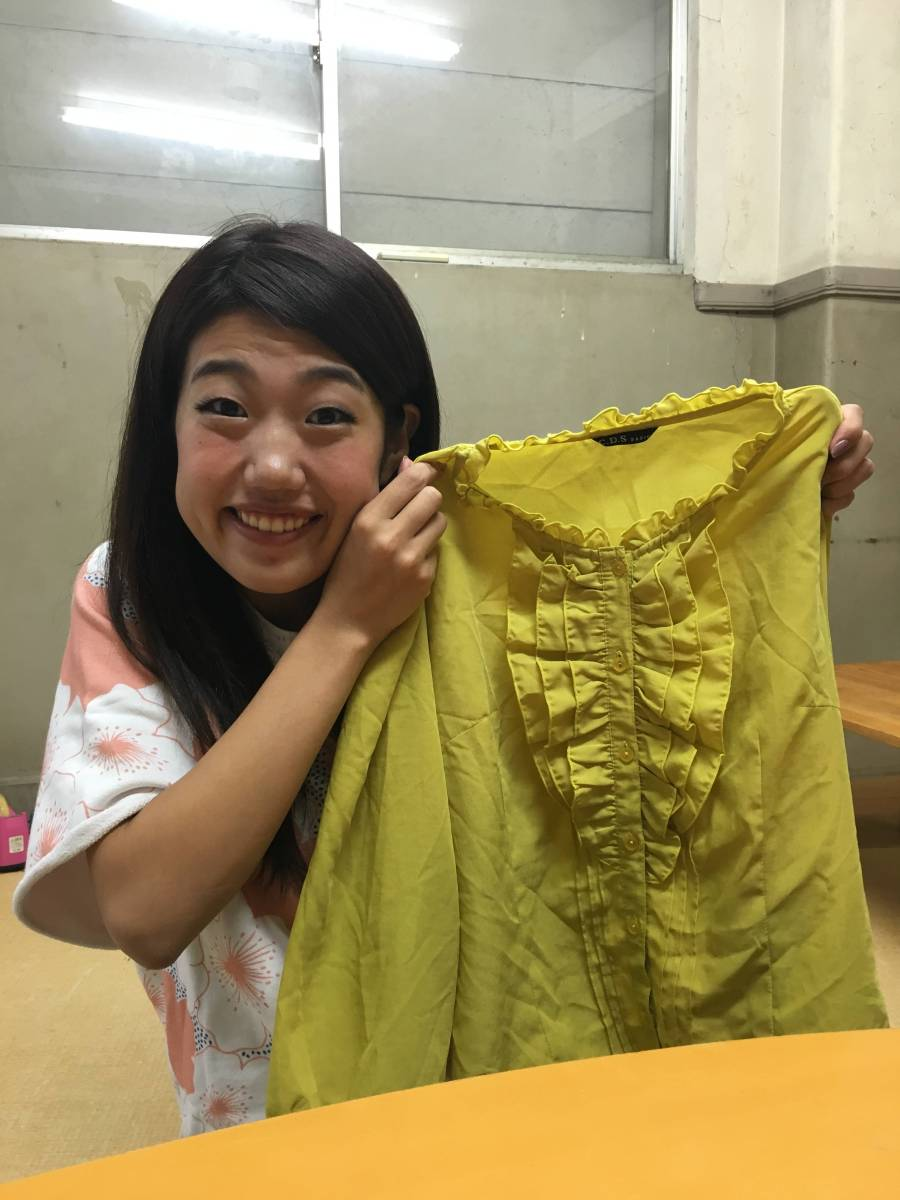 横澤夏子「音楽の先生」ネタ衣装♪本人私物!ものまねグランプリ2015優勝ネタ衣装です!ご購入頂いた方にはサイン入りチェキ同封します☆