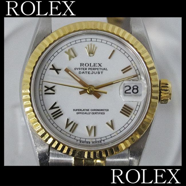 1円★可動ジャンク ブレスジャンク【ROLEX】ロレックス デイトジャスト 68273 S番 93年製