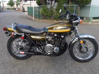 Kawasaki Z1(900cc)本物フルレストア!!