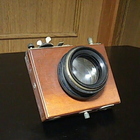 【ジャンク】ASANUMA King 木製 カメラ