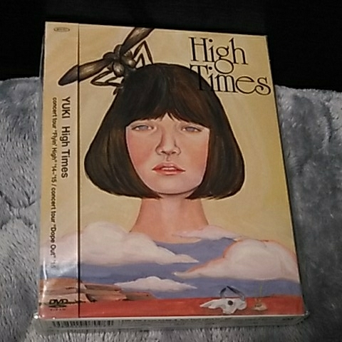 """未開封DVD High Times (YUKI concert tour""""Flyin' High'14~'15 &""""Dope Out'15) ライブグッズの画像"""