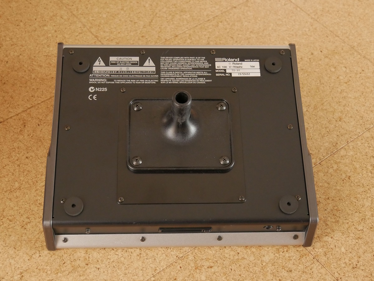 Roland TD-20 ローランド V-Drums音源 サウンドモジュール 液晶に難あり_画像2