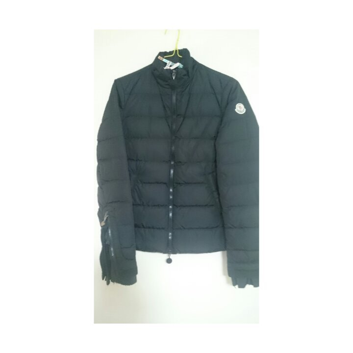 国内正規品◆モンクレール サカイ袖フリル 0 黒