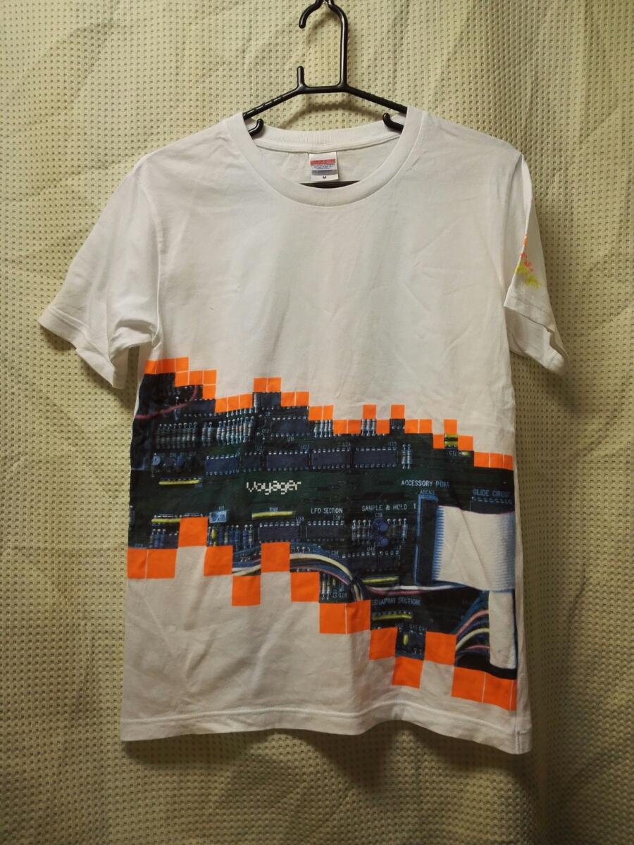 010 バンドTシャツ フジファブリック FUJIFABRIC M 白 ホールツアー2013ボイジャー