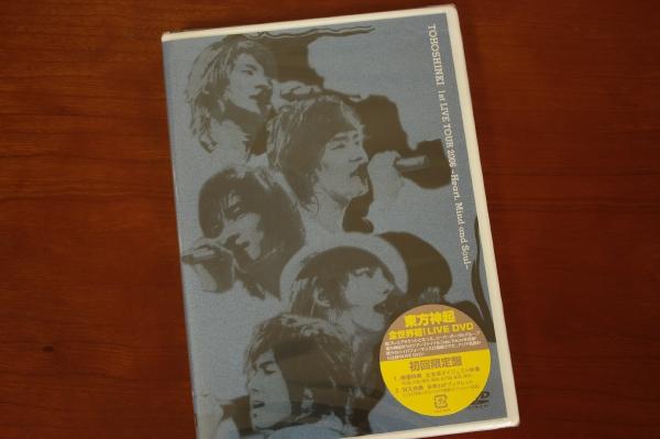 東方神起*1st LIVE TOUR 2006 Heart,Mind and Soul 初回盤 新品