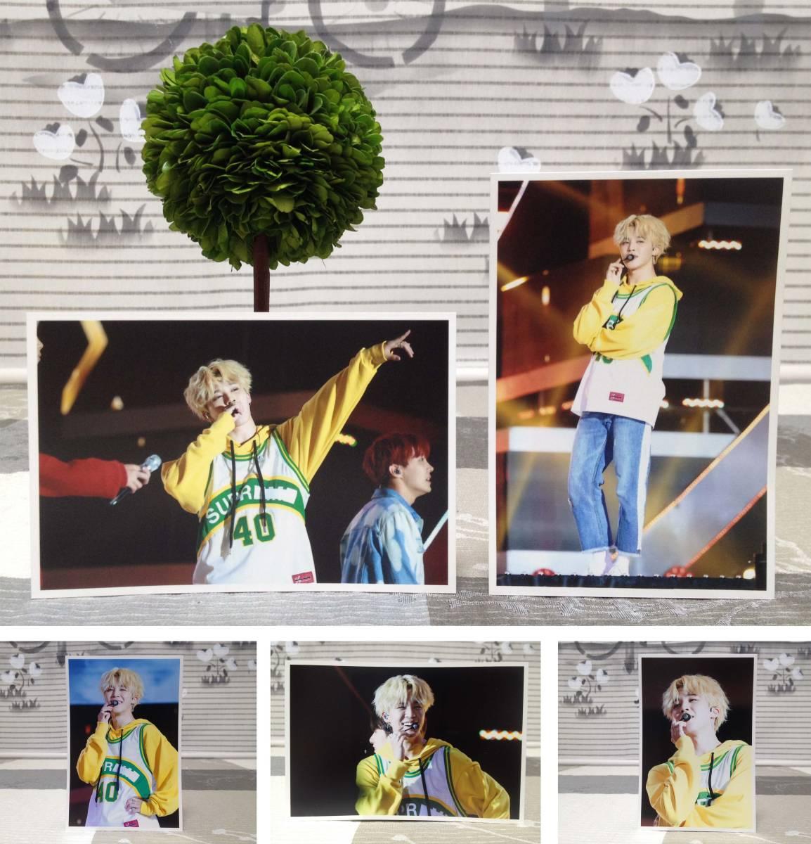 防弾少年団★BTS★ジミン★2017年9月 大田 SUPER CONCERT★FC生写真35枚