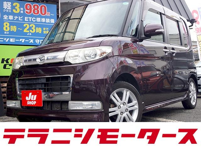 タント 660 カスタム Vセレクション ターボ HDDナビ・ETC・1セグ・DVD再生・キーフリー
