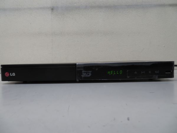 %130a/ LG ブルーレイ/DVDデッキ BP540 新古品 説明書・リモコン・元箱・HDMIケーブル付