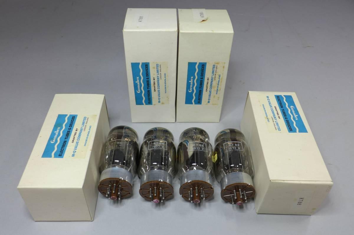 ●アンティーク真空管⑥ Genalex KT88 4本 箱入り 英国イングランド製