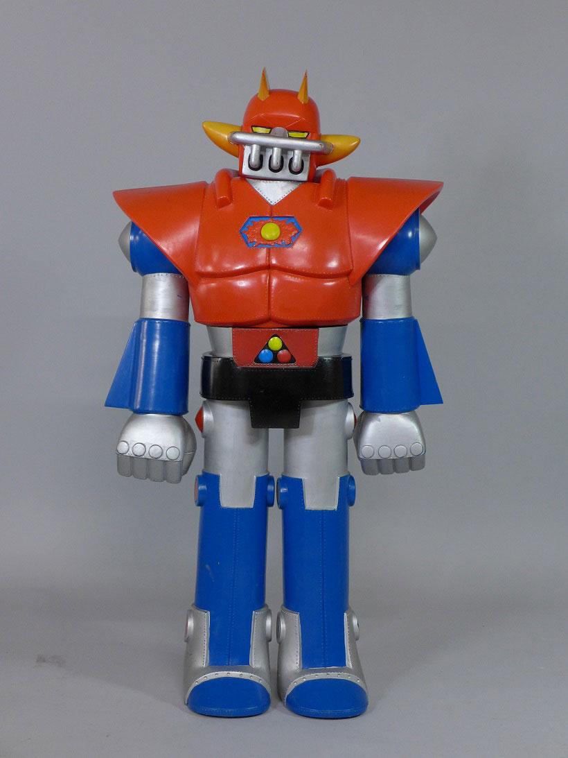 UFO戦士 ダイアポロン ジャンボマシンダー ブルマァク 非売品  79cm ソフビ人形