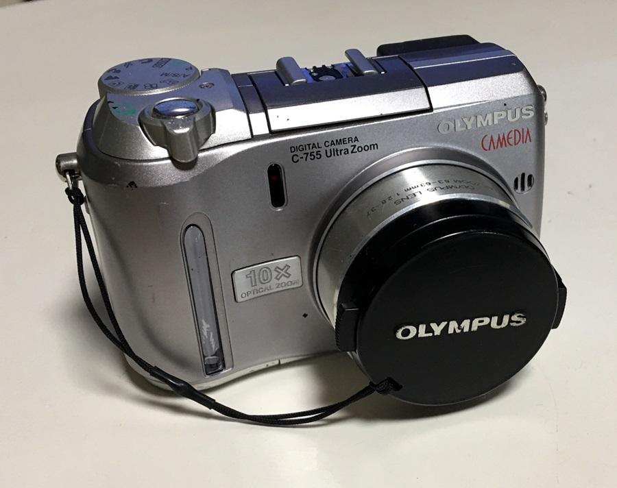 Olympus C-755 UZ IR80 赤外線