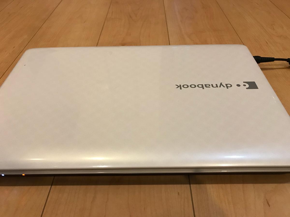 【中古品】東芝ノートパソコン dynabook T351/46CW Corei5/Office2010/4GB/Win10_画像2
