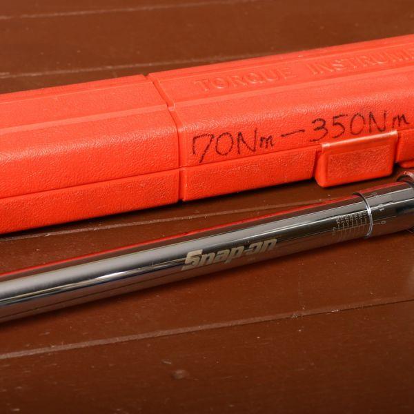 SNAP-ON トルクレンチ 70nm 350nm 工具 電動工具 DIY 日曜大工 kd01000818_画像2