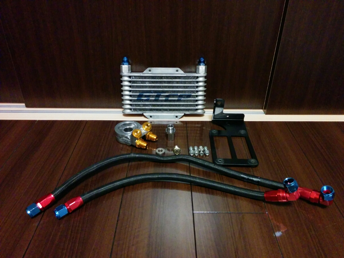 カプチーノ 前期 EA11R GTCP GT car プロデュース オイルクーラーキット