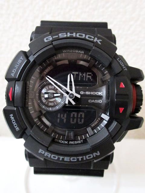 【中古】 カシオ G-SHOCK GA-400 黒 腕時計[240010189326]_画像2