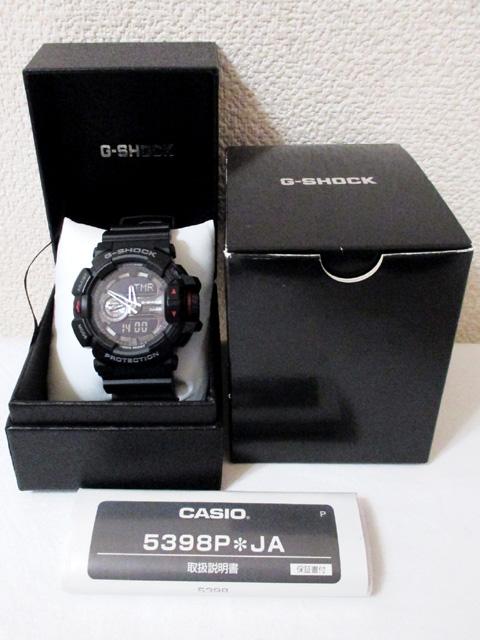 【中古】 カシオ G-SHOCK GA-400 黒 腕時計[240010189326]