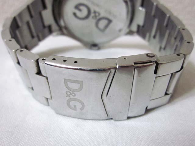 【中古】 D&G DOLCE&GABBANA ドルチェ&ガッバーナ 腕時計 シルバー ブラック[240023055628]_画像4