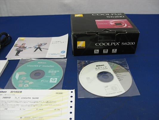 NIKON ニコン COOLPIX S6200 デジタルカメラ 1600万画素 光学10倍ズーム チェリーピンク デジカメ_画像3