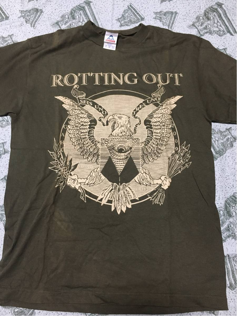 ROTTING OUT Tシャツ nyhc lockin out thrasher 2
