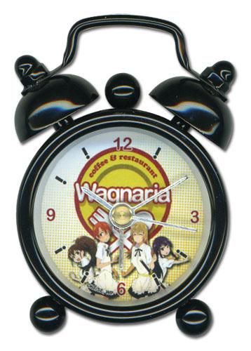 WORKING!! ワグナリアスタッフ (女子) 約5cm ミニ卓上時計 グッズ 北米版 グッズの画像