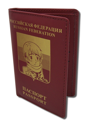 Axis powers ヘタリア ロシア パスポート スタイル 財布 グッズ 北米版 グッズの画像