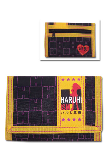 涼宮ハルヒの憂鬱 ハルヒ主義 財布 グッズ 北米版 グッズの画像