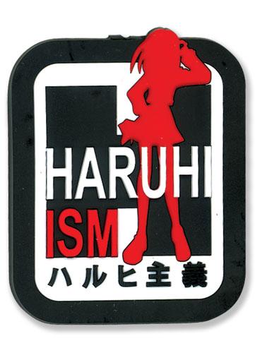 涼宮ハルヒの憂鬱 ハルヒ主義 PVCマグネット グッズ 北米版 グッズの画像