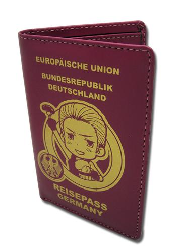 Axis powers ヘタリア ドイツ パスポート スタイル 財布 グッズ 北米版 グッズの画像