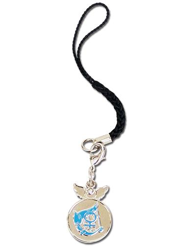 美少女戦士セーラームーン セーラーマーキュリー 紋章 携帯ストラップ グッズ 北米版 グッズの画像