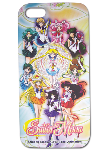 美少女戦士セーラームーンS セーラー戦士 iPhone5/5S用ケース グッズ 北米版 グッズの画像