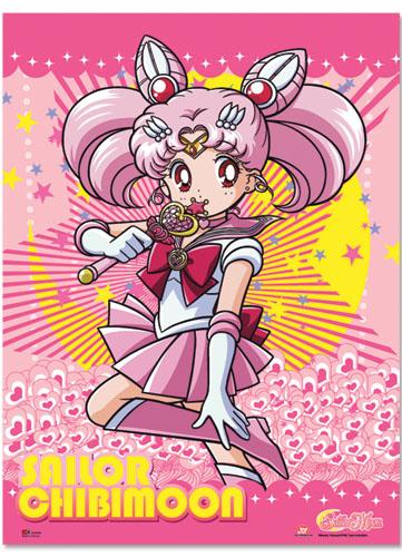美少女戦士セーラームーンS セーラーちびムーン ファブリックポスター グッズ 75x106cm (29.5x42in) 北米版 グッズの画像
