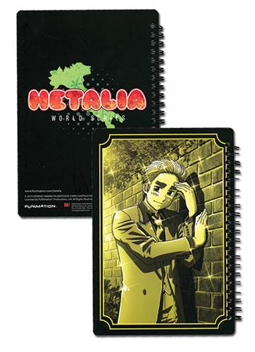 ヘタリア World シリーズ イギリス 14×22cm ノートブック グッズ 北米版 グッズの画像