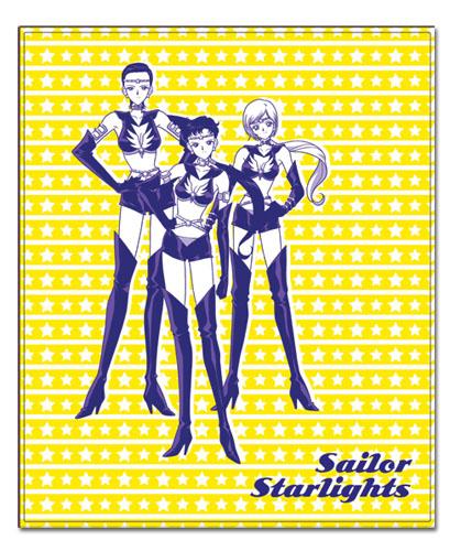 美少女戦士セーラームーン SAILOR STARLIGHTS 127×152.4cm ブランケット グッズ 152x130cm 北米版 グッズの画像