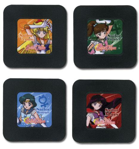 美少女戦士セーラームーン セット 3 コースター グッズ 北米版 グッズの画像