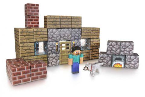 マインクラフト Shelter Set ペーパークラフト グッズの画像