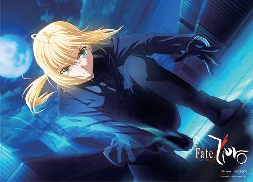 Fate/Zero セイバー ファブリックポスター グッズ 75x106cm (29.5x42in) 北米版 グッズの画像