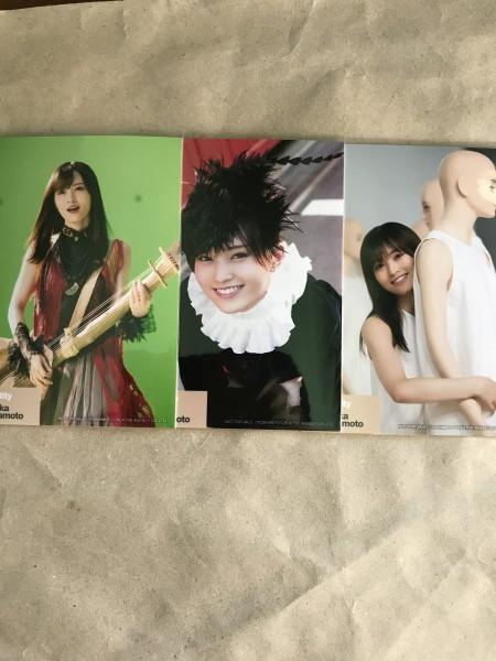 山本彩 生写真 3枚セット forTUNEmusic 購入特典 identity NMB48 AKB48 硬化ケース付き ライブ・総選挙グッズの画像
