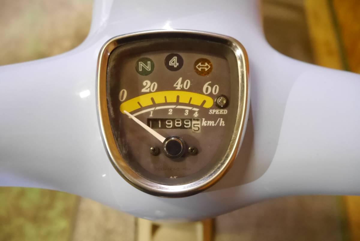 ホンダ リトルカブ AA01型!! セル付き ボアアップ車!! エンジン可動!!_画像9