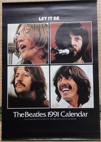 ビートルズ The Beatles 1993年 カレンダー 未使用
