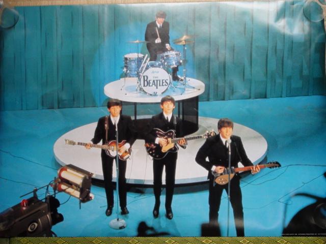ポスター The Beatles DETERMINED PRODUCTIONS INC SAN FRANCISCO 1988