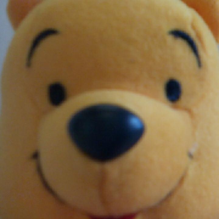 u328♪Disney くまのプーさん プレゼント持ち ぬいぐるみ ディズニーグッズの画像
