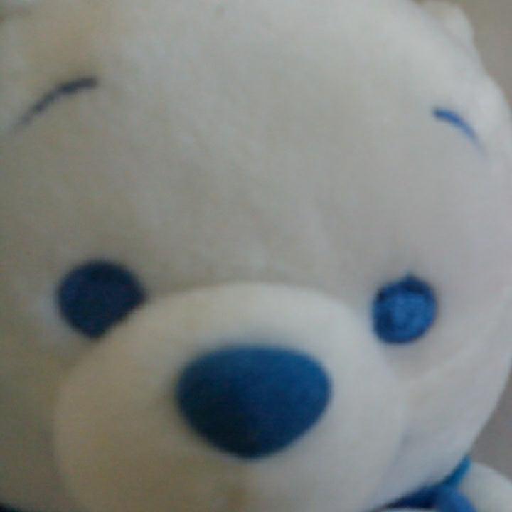 u332♪Disney くまのプーさん 白 ぬいぐるみ ディズニーグッズの画像