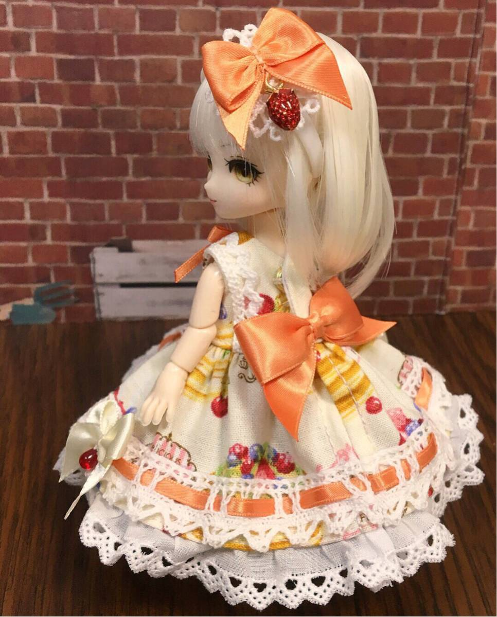 オビツ11用お洋服セット・RL02・ホイップパンケーキ・ベリィママレード【桃兎紅茶館】_画像2