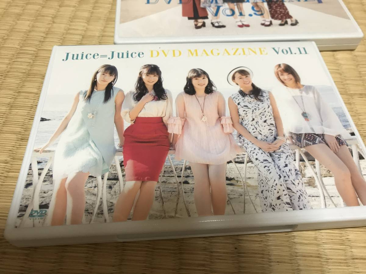 juice=juice dvd magazine vol.11 DVDマガジン ライブグッズの画像
