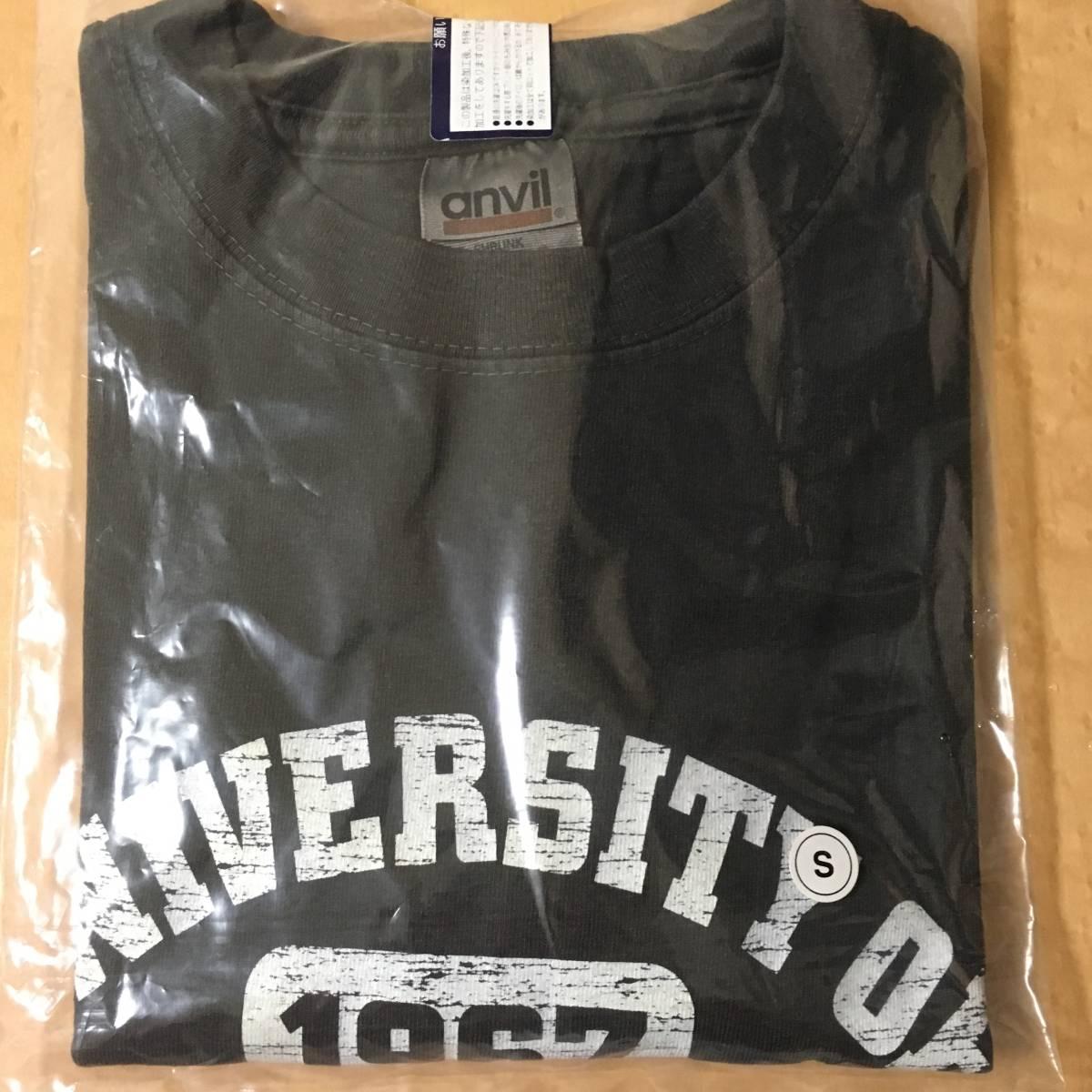 スピッツ Tシャツ ユニバーシティ 未使用 黒 S ライブグッズの画像