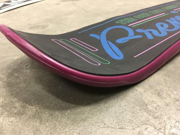 [新品] PREMIER SNOWSKATE プレミア スノースケート PARADISE 38インチ パープル スケートボード スケボー トリック_スノースケートPREMIER