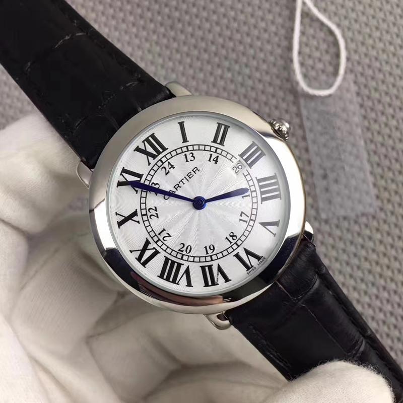 新品 Cartier 腕時計 男性用 ウォッチ